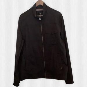PrAna Black Zion Stretch Nylon Jacket Men's L